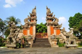 Rumah Adat Bali Tradisional Kesenian Kesenian Adat Tradisional